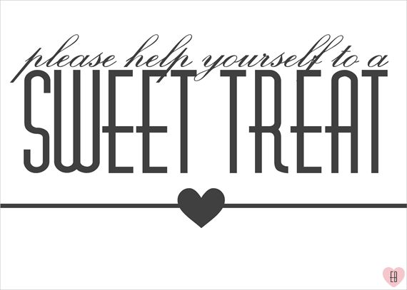 Sweet Treat Candy Bar Sign Printable 06 14 2013