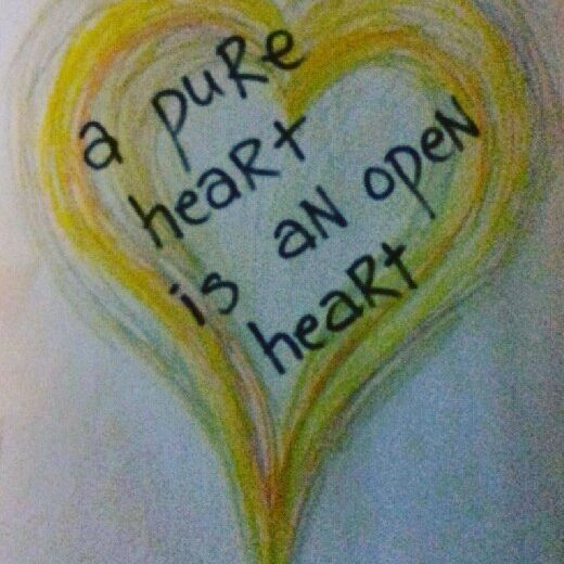 A pure heart is an open heart - YAIYA Lyrics from Pure Heart by @empressyaiya Design by @carolasiekas #pure #pureheart #soul #treasure #freedom #love #yaiya #yaiyaquote #happiness #heartchakra