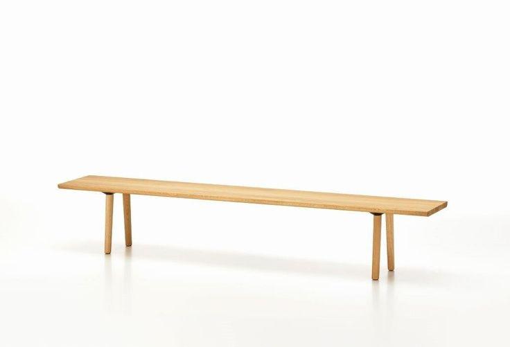 Wood Bench Bank Vitra