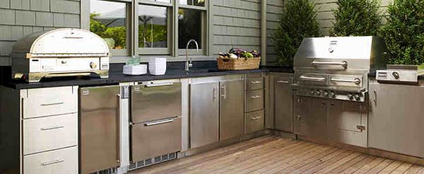 The 25 Best Modular Outdoor Kitchens Ideas On Pinterest Backyard Kitchen Outdoor Grill Area
