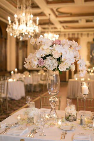 What beautifully elegant wedding reception! Downtown Milwaukee Wedding