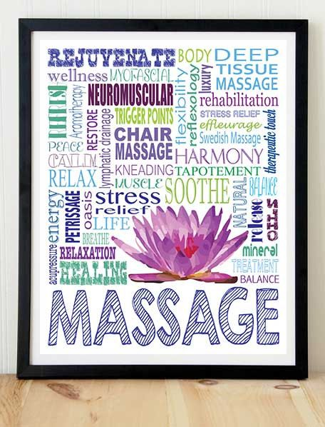 Massage+Therapy+poster+print+typography+by+KremerPrintandDesign,+$10.99