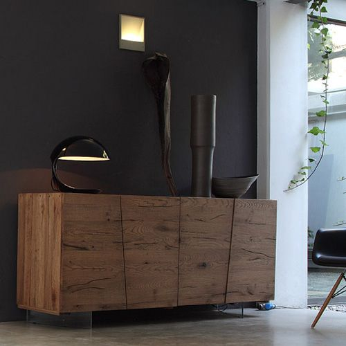 Good Unika range of sideboards by Italian designer Devina Nais is a perfect example of how to