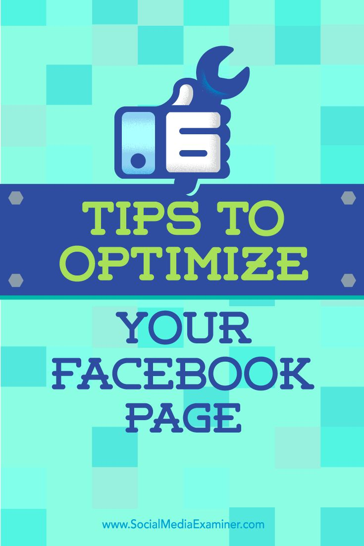Tips on six ways to create a more complete presence with your Facebook Page. Excellent article with lots of information in it.