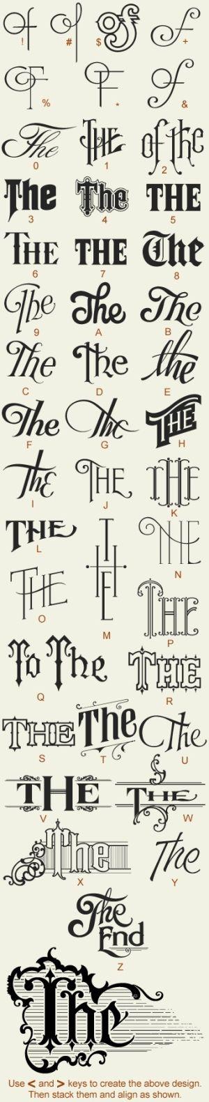 lovely lettering by ethel