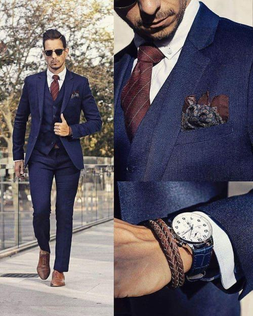 25  best ideas about Navy blue suit on Pinterest | Blue suits ...