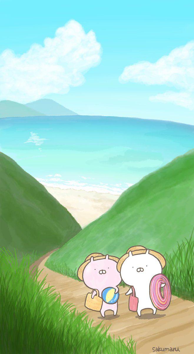 Sakumaru うさまるといっしょ うさまる 壁紙 漫画の壁紙 うさまる イラスト