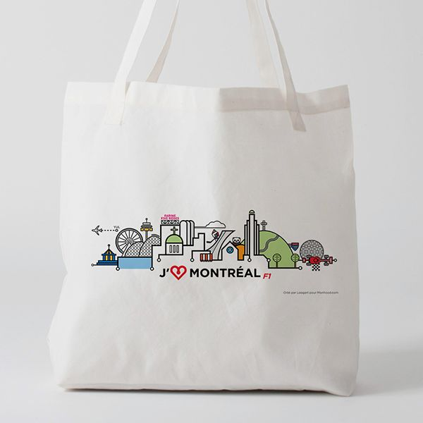 I love Montreal F1 Limited Edition Tote Bag