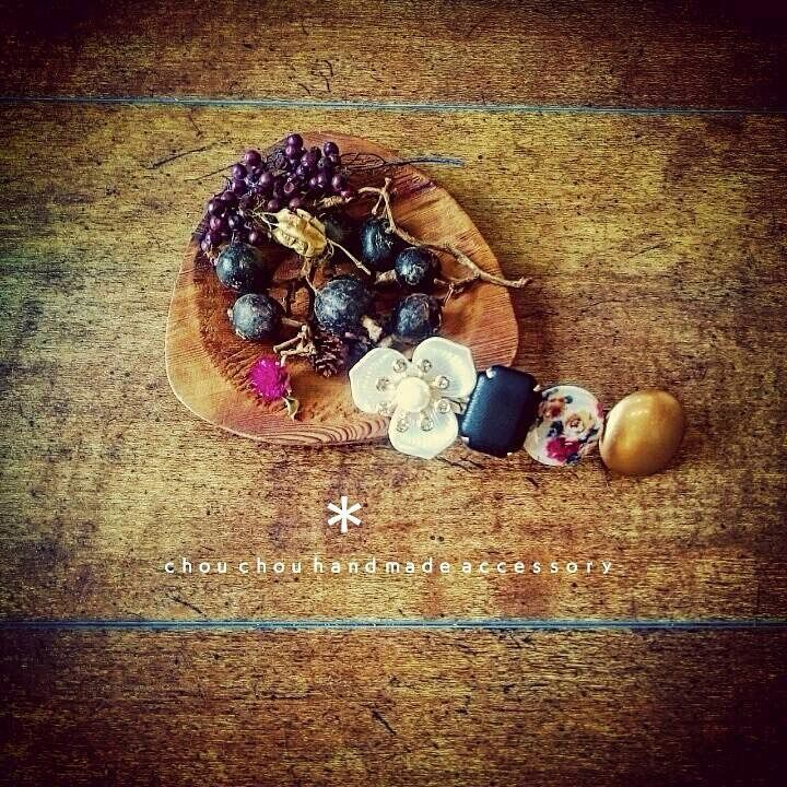 #Handmade #hair ornaments #ハンドメイド #手作り #鹿児島 #美容室 #chouchou #バレッタ