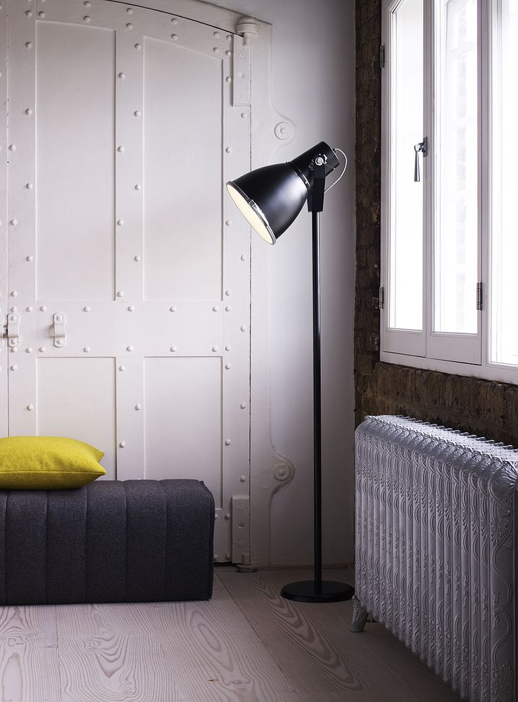 Some Iconic Designs Are Meant To Be Big   Original BTC Stirrup Floor Light