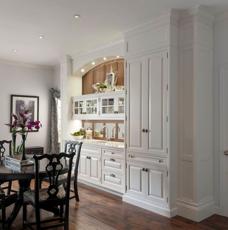the yardley pantry is a perfect statement piece for a dining room or kitchen