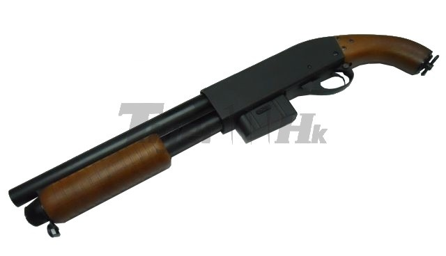 Sawn off pump action shotgun | End of Days character ...