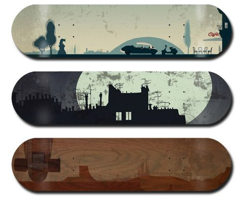 30 Cool Vector Illustrated Skateboard Decks - Tuts+ Design & Illustration Tutorial