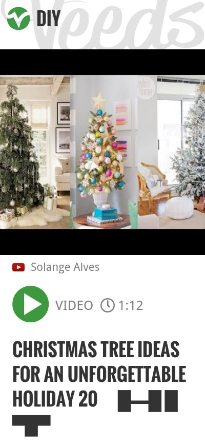 Christmas Tree Ideas For An Unforgettable Holiday 20 ᴴᴰ █▬█ █ ▀█▀   #funny4u2all #あなたの壊れ度   http://veeds.com/i/012mdq1Cl3fORRqt/diy/
