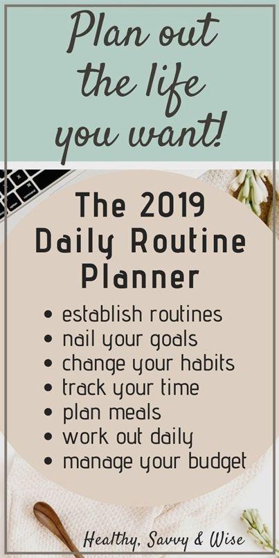 2019 Balance Your Life Planner