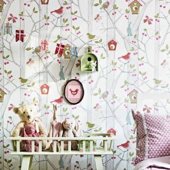 Magical children's wallpaper designs from Scandi Living | Wallpaper
