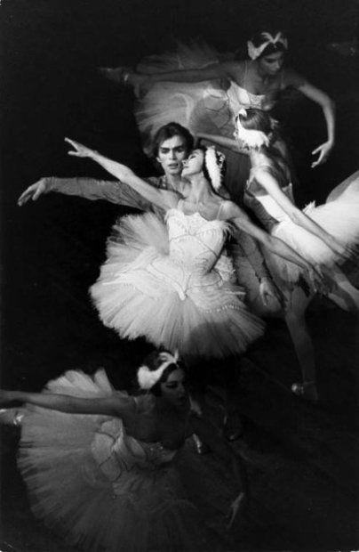 Fonteyn & Nureyev dancing in Swan Lake                                                                                                                                                      More