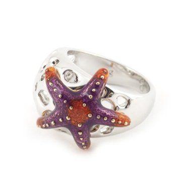 Starfish Ring by Bill Skinner