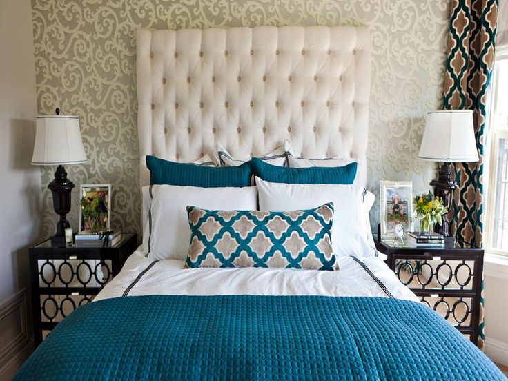 Bedroom Decorating Ideas Teal And Brown 46 best bedroom images on pinterest | bedroom ideas, beautiful