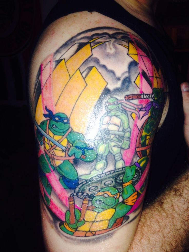 24 best images about ninja turtle tattoo on pinterest geek tattoos mike d 39 antoni and crests. Black Bedroom Furniture Sets. Home Design Ideas