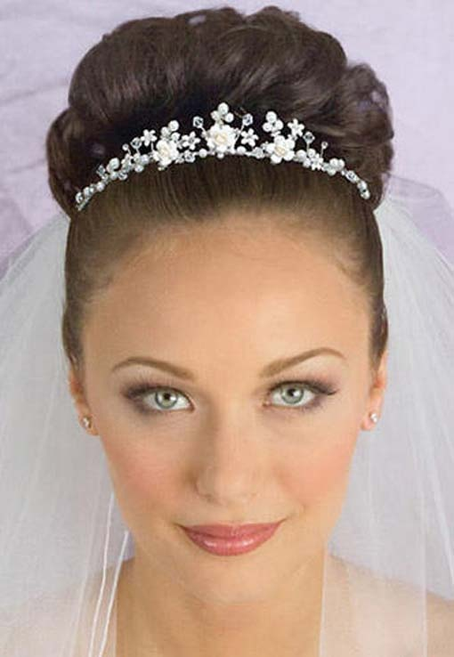 hairstyles for tea party : photo gallery of quinceaneras Tiara Hairstyles Tiara Hairstyle ...