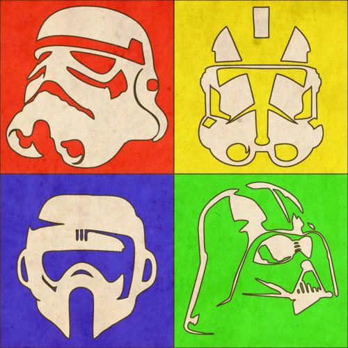 Star Wars Pop Art PostersbyOndrej Uzdil