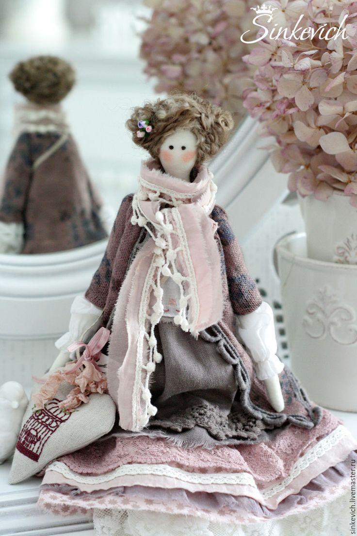 Купить Лайза - тильда, текстильная кукла, кукла интерьерная, кукла ручной работы, кукла Тильда