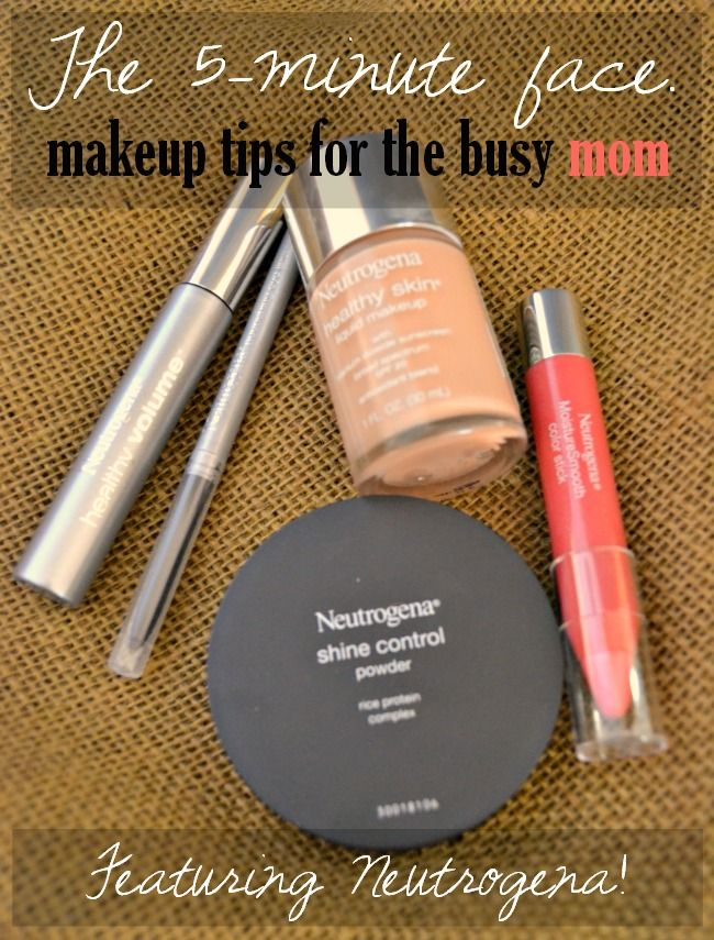 The 5-Minute Face: Makeup Tips for the Busy Mom  #AllDayLook @Target #shop