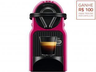 Cafeteira Nespresso Inissia - 19 Bar 110 Volts