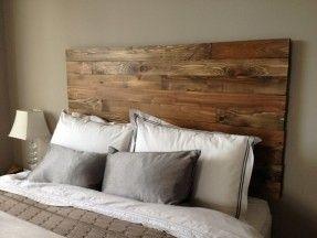 Wooden Diy Headboard Cedar Barn Wood Style Handmade In By Urbanbilly On Etsy