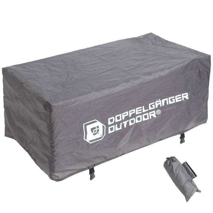 DOPPELGANGER OUTDOOR (ドッペルギャンガーアウトドア) 略してDOD。  雨や夜露から荷物を守る、キャリーワゴン用レインカバー。   #キャンプ #アウトドア #テント #タープ #チェア #テーブル #ランタン #寝袋 #グランピング #DIY #BBQ #DOD #ドッペルギャンガー