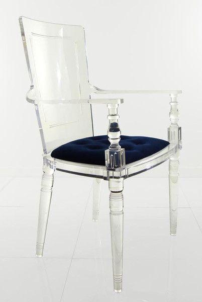 juliette lucite chair