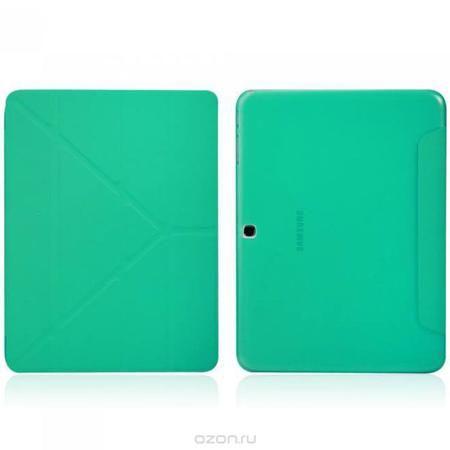 IT Baggage Hard Case чехол для Samsung Galaxy Tab 4 10.1, Turquoise  — 610 руб. —  Чехол IT Baggage Hard Case для Samsung Galaxy Tab 4 10.1 - это стильный и лаконичный аксессуар, позволяющий сохранить планшет в идеальном состоянии. Надежно удерживая технику, обложка защищает корпус и дисплей от появления царапин, налипания пыли. Также чехол IT Baggage для Samsung Galaxy Tab 4 10.1 можно использовать как подставку для чтения или просмотра фильмов. Имеет свободный доступ ко всем разъемам…