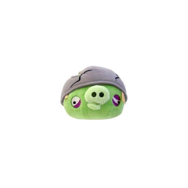Angry Birds - Peluche De Cerdo Con Casco 5''