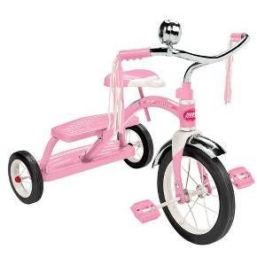 Radio Flyer Girl's Classic Dual Deck Trike - Pink : Target