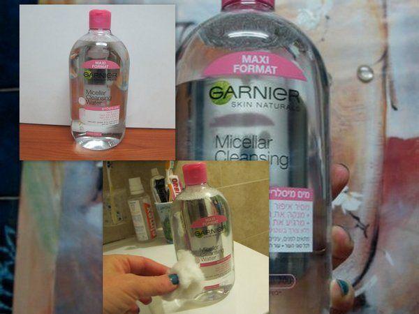 מכורה לטיפוח ויופי: גרנייה משיק Micellar Cleansing Water – תמיסת מי מס...
