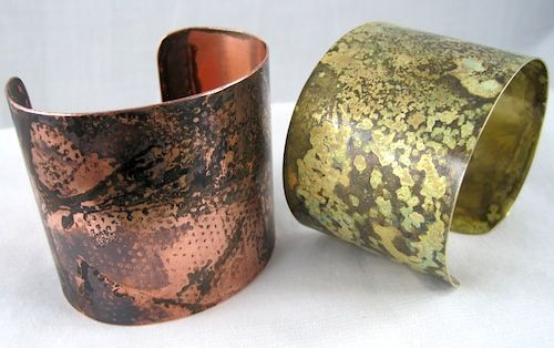 How to make a rustic cuff bracelet...seems like a great project for a jewelry making beginner, like me!  From Jewelry Making Journal