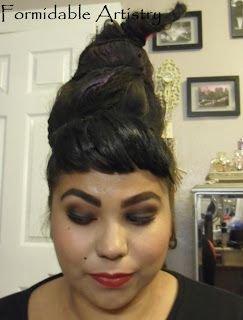 Hocus Pocus Mary Sanderson Hair + Makeup Tutorial