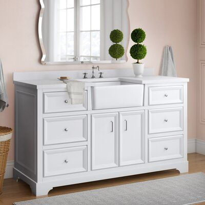 Charlton Home Montleban 60 Single Bathroom Vanity Set Base Finish