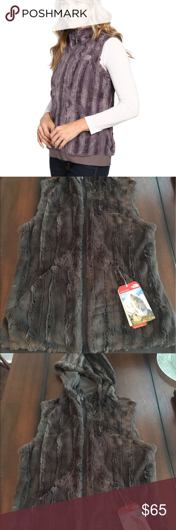 NWT The North Face Furlander Vest Asphalt Grey Super cute vest. New with tags. Never worn. The North Face Jackets & Coats Vests