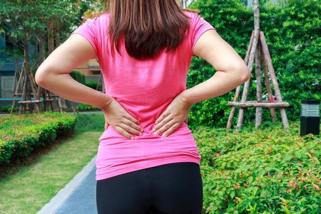 Tight hamstrings can cause lower back pain.