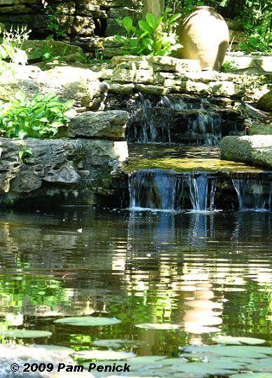 Lagoon Pool Waterfall