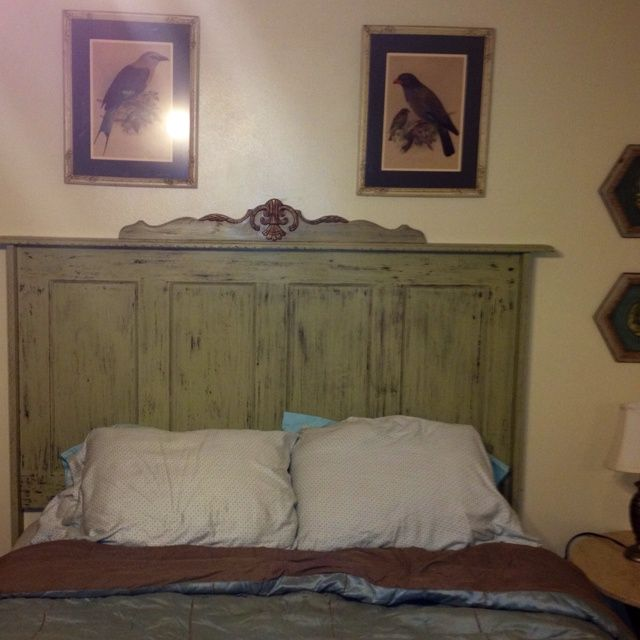 Old Doors Made Into Headboards For King Bed Headboard My