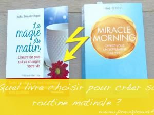 Miracle morning – VS –  La magie du matin • Hellocoton.fr