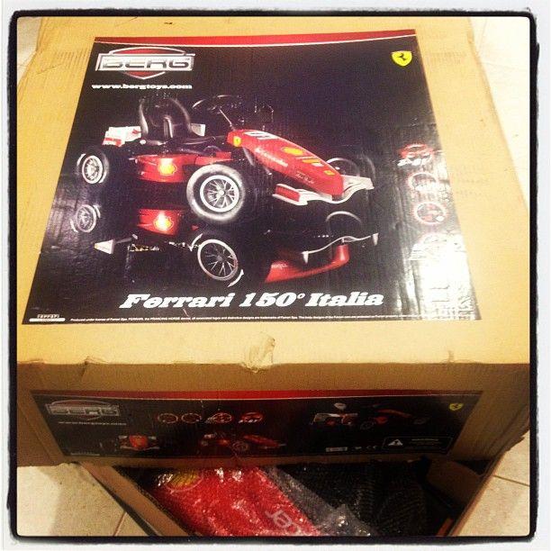 About To Assemble The Berg Ferrari 150 Italia Available From Redi To Pedi In Orlando Florida In 2020 Ferrari Pedi Italia