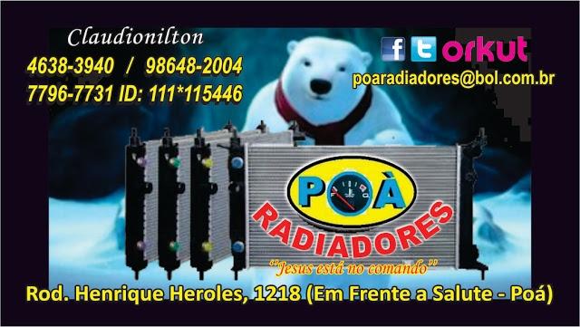 PRODUTOS - Radiador - Soldas - Colmeia - Caixas - Condensador - Eletroventilador