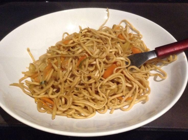 Spicy Noodles, one of my 'comfort foods'.