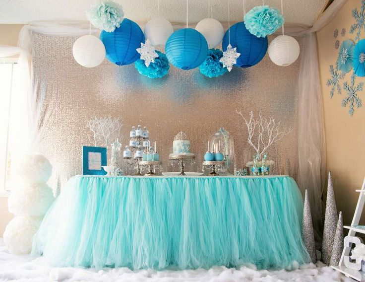 "Frozen (Disney) / Birthday ""Frozen Wonderland"" 