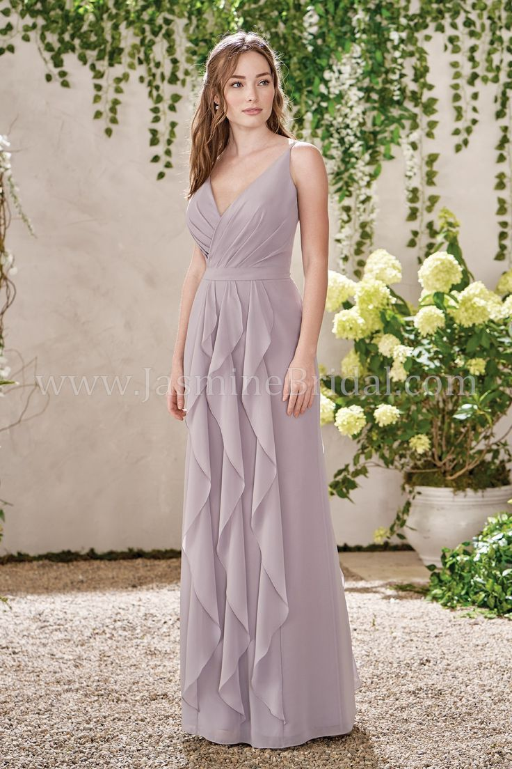 50 best spring 2017 bridesmaids images on pinterest jasmine jasmine bridal b2 style b193015 in graphite ombrellifo Image collections
