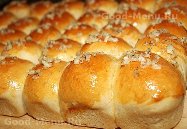 Пампушки с чесноком - рецепт